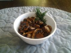 Sherried Mushrooms
