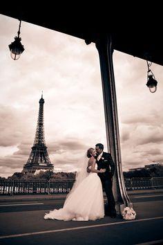 Wedding in Paris. Pretty cool...