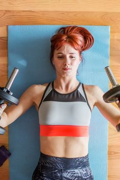 Gym memberships are wonderful. They give you access to kick-butt equipment like the Stairmaster, kettlebells, and stability balls. But these memberships can be Benefits Of Strength Training, Strength Training Workouts, Toning Workouts, Weight Training, Fun Workouts, At Home Workouts, Exercise Moves, Wellness Fitness, Fitness Gear