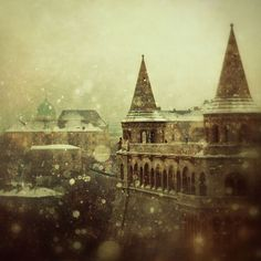 Budapest, Hungary 'From The Book Of Dreams' by i. Tristan Tzara, Expecto Patronum Harry Potter, Hogwarts Christmas, Photo Voyage, Urban, Oh The Places You'll Go, The Book, Fairy Tales, Beautiful Places