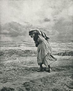 Henry Peach Robinson, England : Stormy Weather. 1894