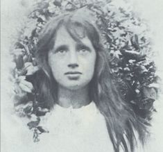 Virginia Woolf as a child