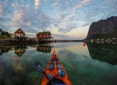 Adventure photographer Tomasz Furmanek documents some of the most stunning natural beauty in the world, all from the seat of his kayak. From the spectacular Lofoten Islands to Lofoten Islands Norway, Norway Fjords, Alice The Angel, Got7 Bam Bam, Beautiful Norway, Epic Photos, Photography Competitions, Canoe And Kayak, Photo Series