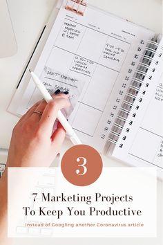 7 Marketing Projects to Keep You Productive During Quarantine - Hana Clode Marketing Program, Marketing Tools, Email Marketing, Digital Marketing, Create Email Template, Email Templates, Password Manager App, Creative Business, Productivity