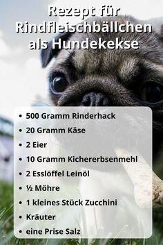 Rezept für #Hundekekse mit Rindfleisch #getreidefrei #selberbacken