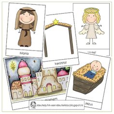 Woordkaarten KERST (Nederlands) Oldest Bible, Saint Nicolas, Religious Education, Christmas Crafts For Kids, Sunday School, Art For Kids, Nativity, December, Xmas