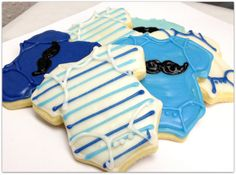 Baby+Boy+Sugar+Cookie+Baby+Shower+Iced+por+SugarMeDesserterie,+$23,95