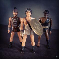 Clash of The Titans action figures - Mattel - 1980