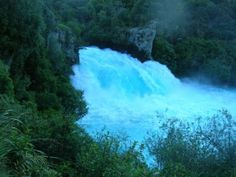 Lake Taupo - Huka Falls