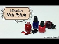 Creating Dollhouse Miniatures: Miniature Nail Polish Tutorial