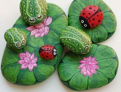 Ladybug Painted Rocks Will Bring Your Garden To Life | The WHOot