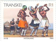 1984 Transkei   -  Intonjane dance by women of the Xhosa tribe