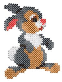 thumper – Famous Last Words Quilting Beads Patterns Melty Bead Patterns, Pearler Bead Patterns, Perler Patterns, Beading Patterns, Embroidery Patterns, Cross Stitch Patterns, Bracelet Patterns, Quilt Patterns, Hama Beads Design