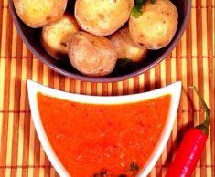 Rezept Kanarische Kartoffeln mit Paprika-Chili Mojo von André Stoßberg - Rezept der Kategorie Hauptgerichte mit Gemüse