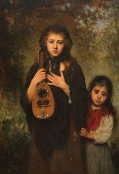 Two Girls (Alexei Harlamoff - 1894)
