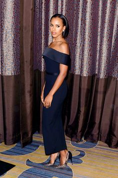 All Things Loved By Lady Bartholomew — celebritiesofcolor:   Kerry Washington attends the...