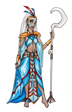 "Queen Kida's New Outfit by MeuWi.deviantart.com on @DeviantArt - From ""Atlantis: The Lost Empire"""