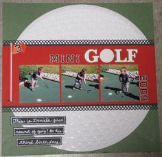 Mini Golf - Scrapbook.com