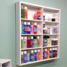 Craft Paint Organizer