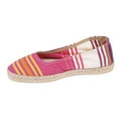 Ballerines rayées #pink #shoes #summer #beach