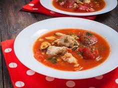 Soupe italienne de poisson et fruits de mer