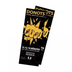 DONOTS Release Tickets for Grand Münster Slam 6 - http://www.okgoodrecords.com/blog/2017/07/12/donots-release-tickets-grand-munster-slam-6/ - Critically acclaimed German punk band DONOTS have released tickets for their Grand Münster Slam 6 concert taking place on December 15, 2018! While it may be awhile away, it's never to early to start planning! The concert will be taking place at MCC Halle Münsterland. For more information... - band, CARAJO, concert, critically a