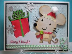 Baby gifts cricut create a critter 42 ideas Cricut Christmas Cards, Christmas Cards 2017, Cricut Cards, Kids Christmas, Holiday Cards, Create A Critter, Theme Noel, Kids Cards, Baby Cards
