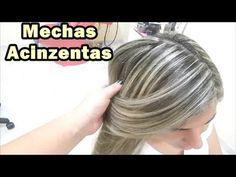 Passo a Passo de Mechas na Touca Acinzentadas Grey Hair - YouTube