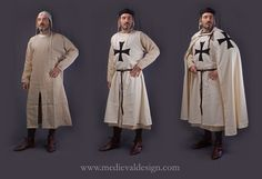 1240-1280 teutonic order outfit by www.medievaldesign.com