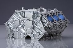 Audi V6 cylinder milled in Germany using WorkNC CAD/CAM