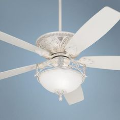 Amazon crystal bead candelabra antique white ceiling fan light 60 casa vieja montego rubbed white ceiling fan with light aloadofball Image collections
