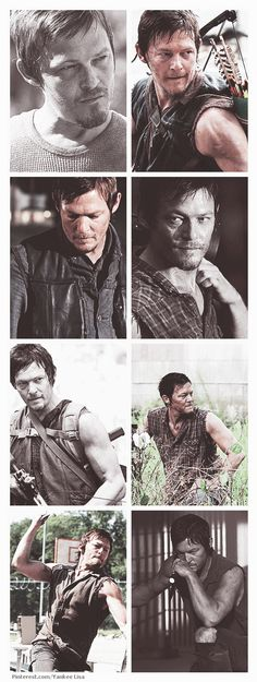 Daryl Dixon, The Walking Dead :) We all would want a hillbilly on our side during a zombie apocalypse.