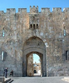 St Stephens Gate | The Lions' Gate, Stephen's Gate, or Sheep Gate, is located in the Old ...