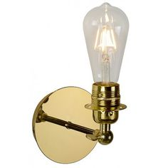 Design; Dashing Iwhd Brass Rustic Vintage Led Wall Lamps Living Room Edison Loft Industrial Led Wall Light Sconce Wandlampen Home Lighting Novel In