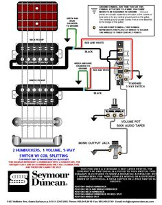 seymour duncan wiring diagram 2 triple shots 2 humbuckers 2 the world s largest selection of guitar wiring diagrams humbucker strat tele bass and more