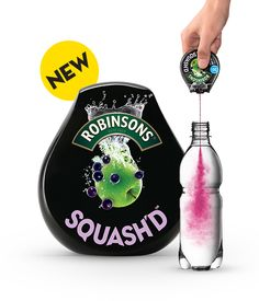 Robinsons Squash'd super concentrated squash. A Mio #packaging clone? PD