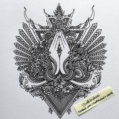 Afbeeldingsresultaat voor cambodian spell tattoos