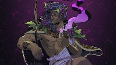 Dionysus art from Hades Video Game Art, Video Games, Hades Greek Mythology, Game Character, Character Design, Game Concept Art, Portraits, Epic Games, Greek Gods