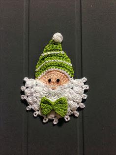 """Ponto Preso1: Croche - Modernizando o """"Noelzinho"""" ... Maybe an elf"""