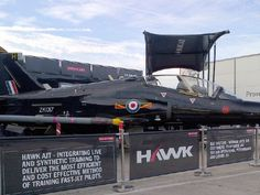 The BAE Hawk trainer on display at the Paris Air Show in 2013. (Photo: BAE Systems)