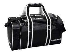 BAUER Team Premium Hockey Duffle Bag, 22 Inch Black : STANDARD