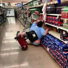 How does this happen???Walmart We Love To See You Smile - Funny Pictures at Walmart. Oh no! Not really funny but really funny at the same time! ~sc