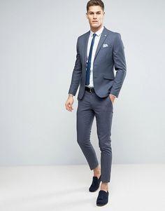 Male Wedding Guest Outfit, Black Suit Wedding, Wedding Dresses Men Indian, Wedding Dress Men, Skinny Suits, Slim Fit Suits, Mens Fashion Suits, Mens Suits, Best Smart Casual Outfits