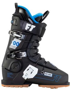 First Chair 100 Consistent Flex, Consistent Performance The Full Tilt First Chair 100 is a performance driven ski boot that will let you tackle any challenge on the mountain with confidence. Featuring an Intuition® Pro Tongue Liner, Grip Walk Outsoles, and a slightly more forgiving flex than its big brothers, this boot allows you to press, arc, and slash with ease. The First Chair 100 packs a solid punch and is sure to be the best go to all mountain ski boot for those looking for a softer…