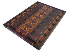 Abstract -Zebrawood- End Grain Cutting Board - Willie Workbench Woodworking Guide, Woodworking Projects Diy, Woodworking Furniture, Custom Woodworking, Wood Projects, Woodworking Classes, End Grain Cutting Board, Diy Cutting Board, Custom Cutting Boards