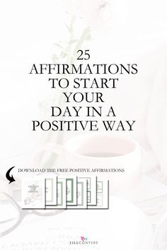 """Create a habit of using daily affirmations and kickstart your day with a positive vibe and energy. Affirmations are positive, specific statements that help you to overcome self-sabotaging, negative thoughts. """"Whatever you hold in your mind on a consistent Positive Outlook On Life, Positive Mindset, Positive Thoughts, Positive Vibes, Positive Living, Success Mindset, Affirmations For Women, Morning Affirmations, Positive Affirmations"""