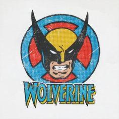 vintage superhero nursery wolverine