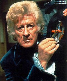 Jon Pertwee Third Doctor Doctor Who science-fiction television programme produced by the BBC. The adventures of the Doctor, a Time Lord. Exploring the universe in his TARDIS, a sentient time-travelling space ship appearing as a blue British police box. Jon Pertwee, First Doctor, Good Doctor, Dr Who, Classic Doctor Who, Old Time Radio, Sci Fi Series, Tv Series, Alternate History