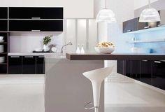 Decoração da cozinha: como usar a cor preta    http://magicweb.me/buz