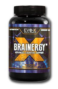 Brainergy-X Capsules): BEST Rated Brain + Energy Supplement: Focus, Brainpower Enhancing, Nootropic. Premium, Caffeine + L-Theanine. EVO-X… Evo X, Best Nootropics, High Stress Jobs, L Tyrosine, Full Body Detox, Energy Supplements, Nutrient Rich Foods, Capsule, Sports Nutrition